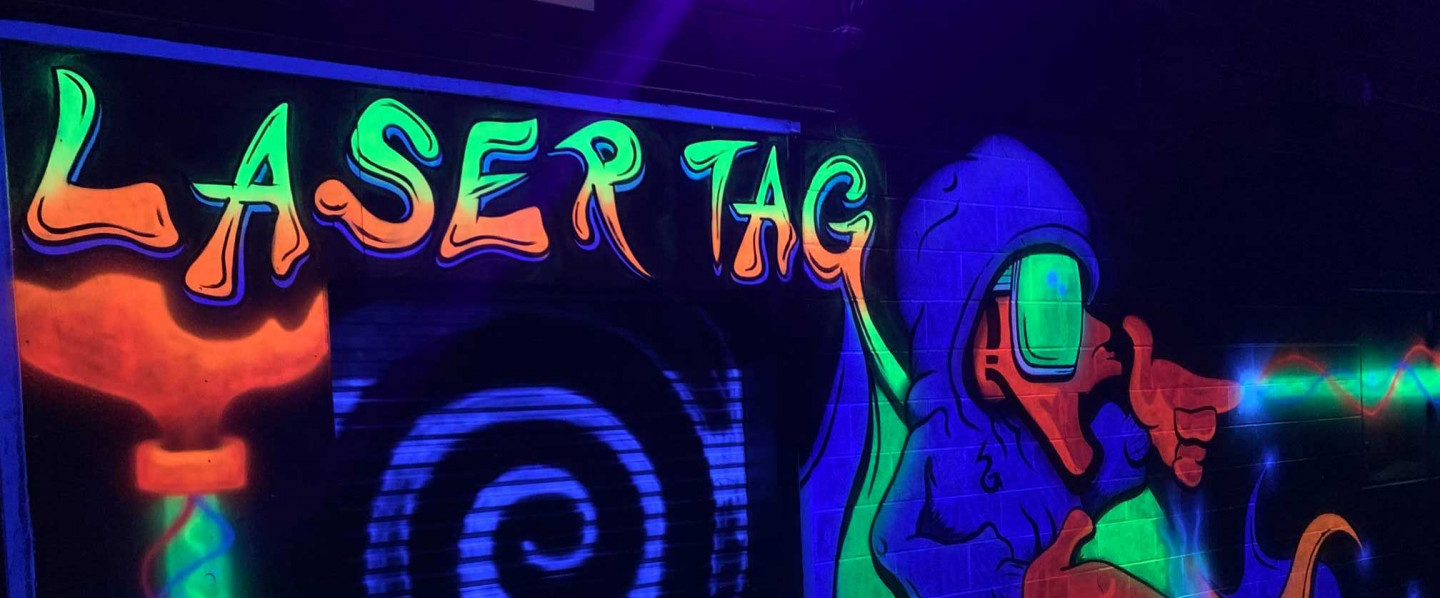 Team Up With Your Buddies or Go All against All In our One of a Kind Laser Tag Arena